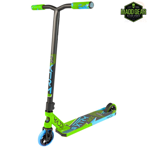 MADD GEAR KICK EXTREME V5 - LIME/BLUE