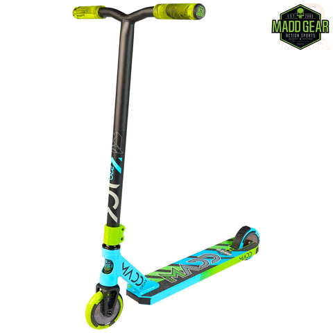 MADD GEAR KICK PRO V5 - BLUE/LIME