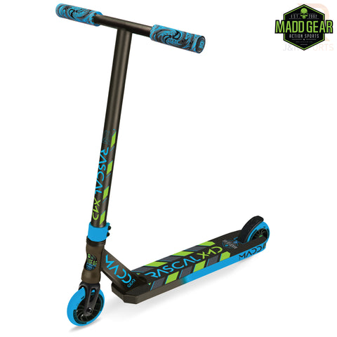 MADD GEAR KICK MINI PRO RASCAL III - BLUE/LIME