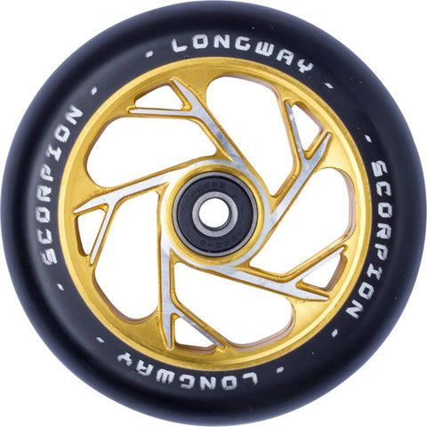 Longway Scorpion Pro Scooter Wheel (110mm | Gold)