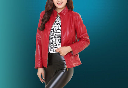 Women Bomber Fashion Jacket