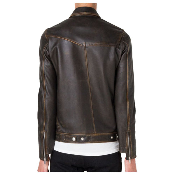 Vintage Cracker Biker Jacket - jackethunt