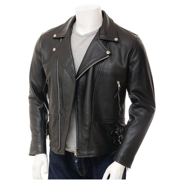 Moto Slim Fit Biker Jacket - jackethunt