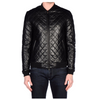 Quilted Biker Fashion Leather Jacket -