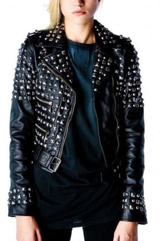 Women Studded Jacket