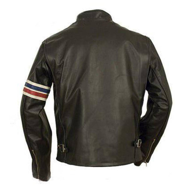 Peter Ronda USA Flag Biker Jacket - jackethunt