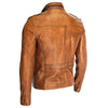 American Vintage Brown Fashion Leather Jacket -