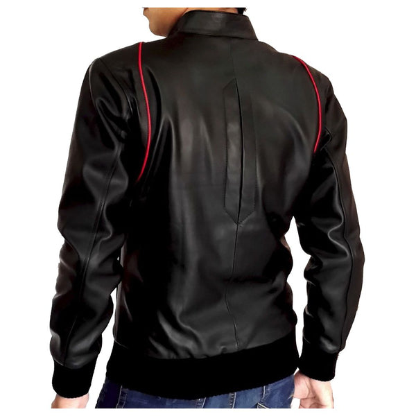Blouson Slim fit Biker jacket - jackethunt