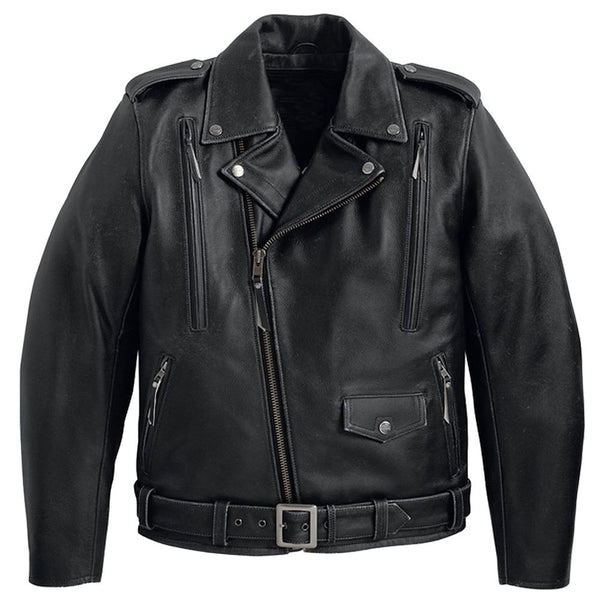 Heavy Fashion Biker Leather Jacket -
