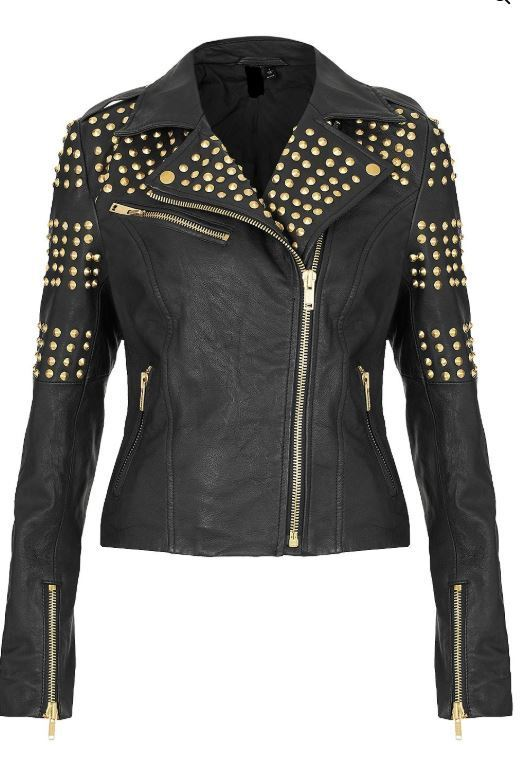 New Women's Pure Golden Half Studded Brando Style Black 2021