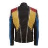 Men Handmade Multi color Philipp Plein Full Studded Leather Jacket - Jackethunt