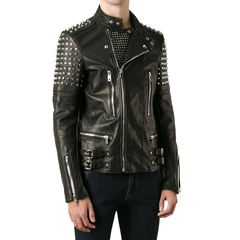 Men Studded Jacket