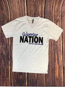 Warrior Nation V-Neck Short Sleeve Tee
