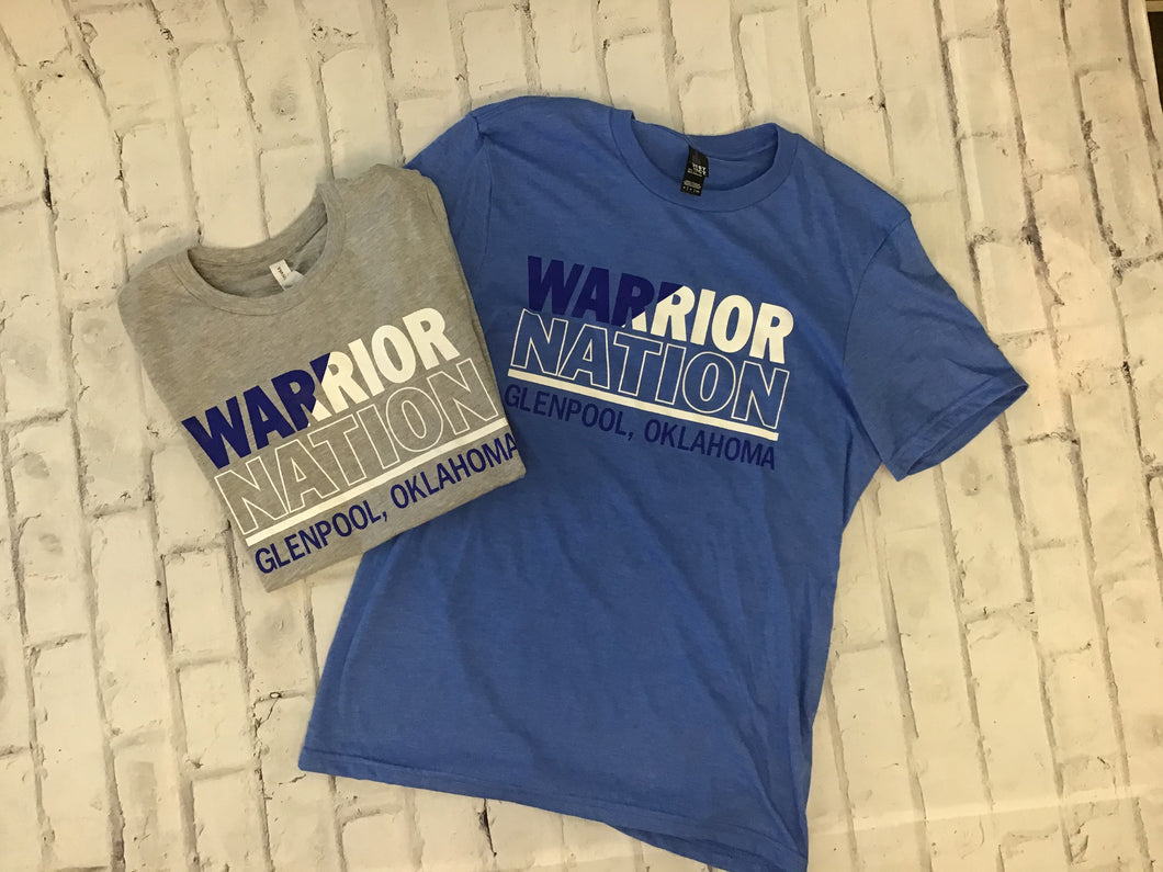 Warrior Nation Short Sleeve Tee