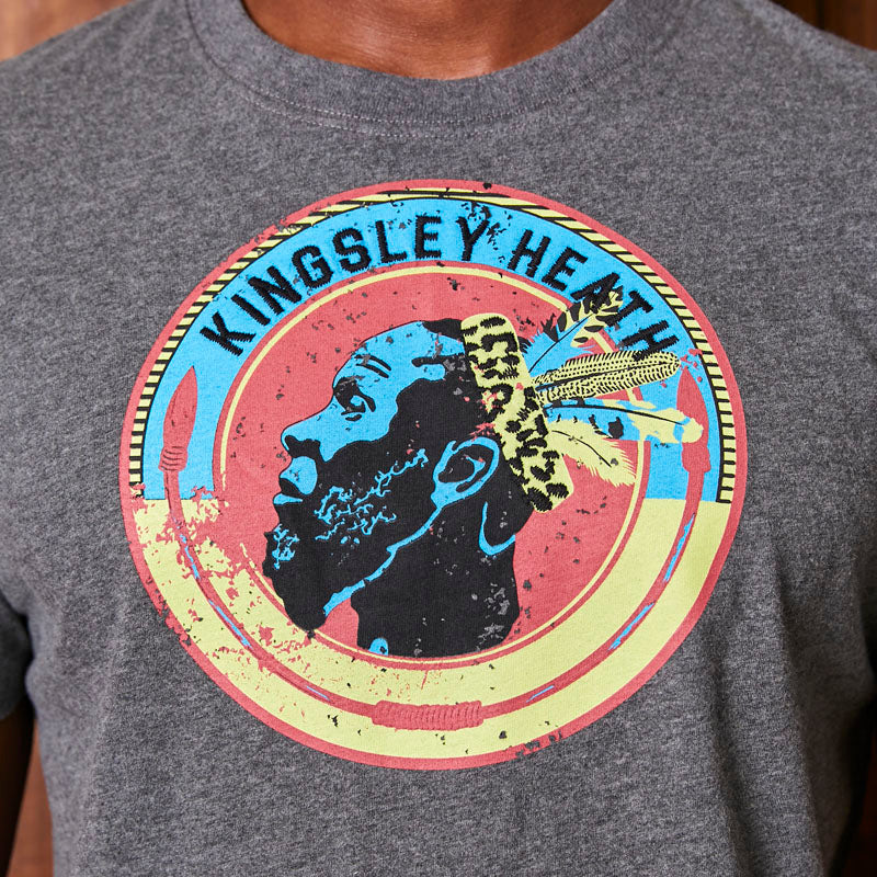 Kingsley Heath Tribe Luxe Crew Jackal Tee
