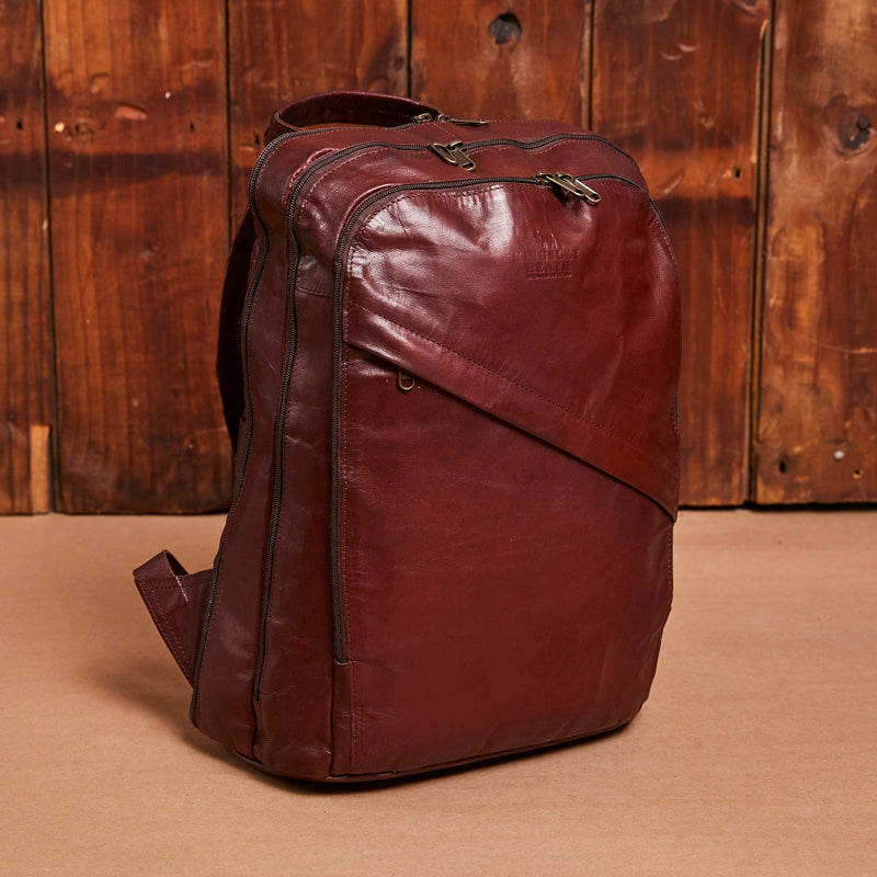 Kingsley Heath Business Tan Backpack