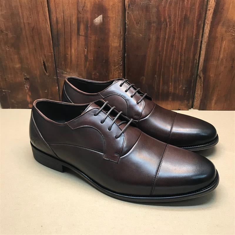 Kingsley Heath DCW Captoe Choc/Tan/Choc Shoe