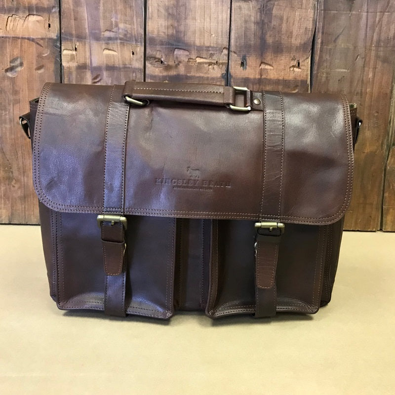 Urban Explorer Back Sleeve Messenger Tan Bag