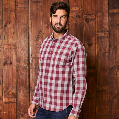 Hermanus Cruising Muscle Fit Merlot Shirt