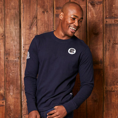 Kingsley Heath Rugby League Long Sleeve Midnight Tee