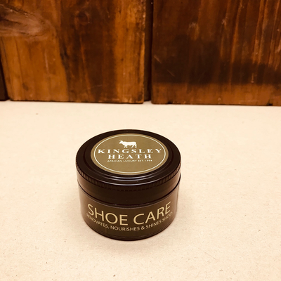Kingsley Heath Black/Tan Shoe Polish