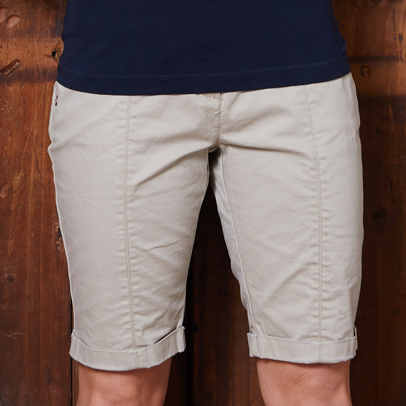 Luxe Bermuda Stone Shorts