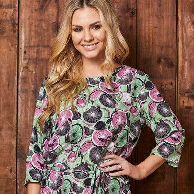 Kingsley Heath Ceres Orchard Boho Sage Tunic