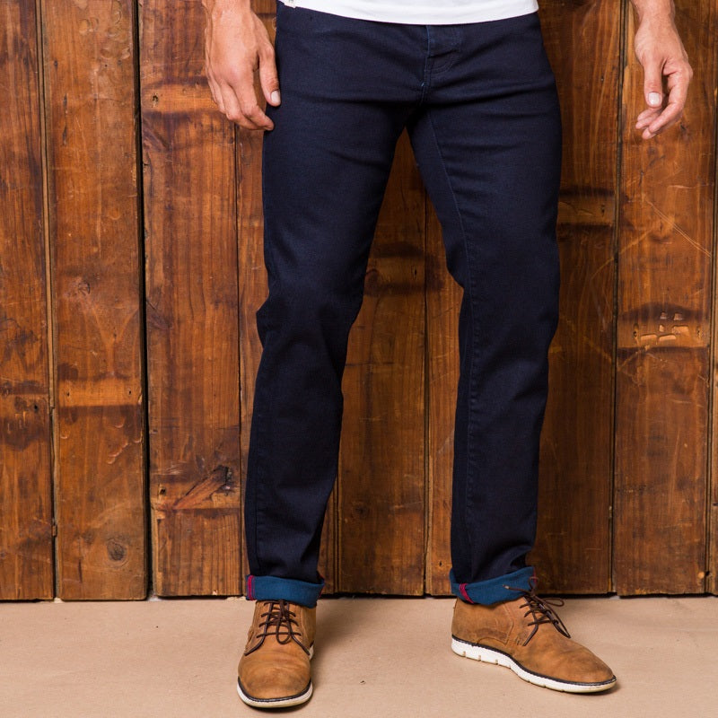 Ranger Slim Solid Ink Denim