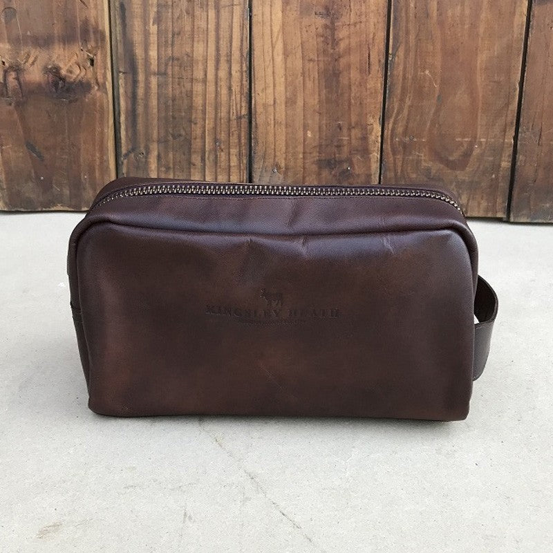 Garden Route Toiletry Tan Bag