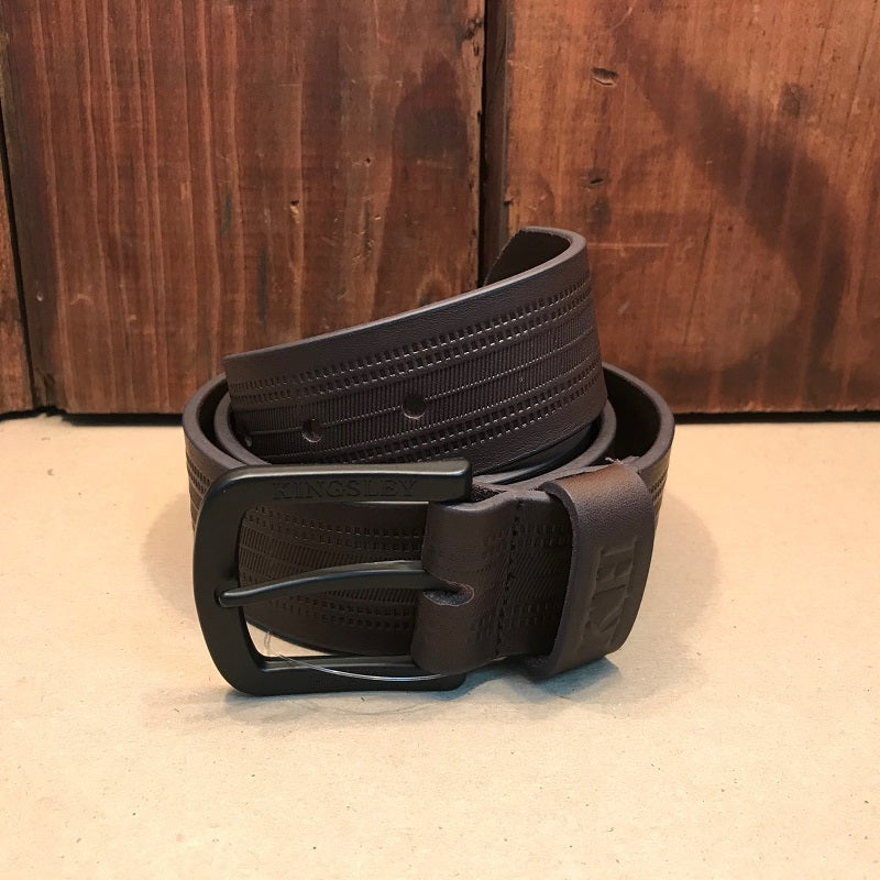 Embossed Stripe Buffalo/Black Belt