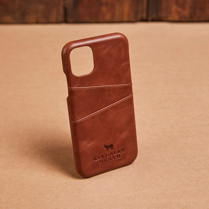 Kingsley Heath Iphone 11 Card Tan Case