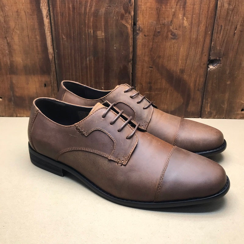 Kingsley Heath Jack Of Trades Tan/Choc Shoe