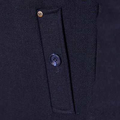 Cape Royal Wool Midnight Coat