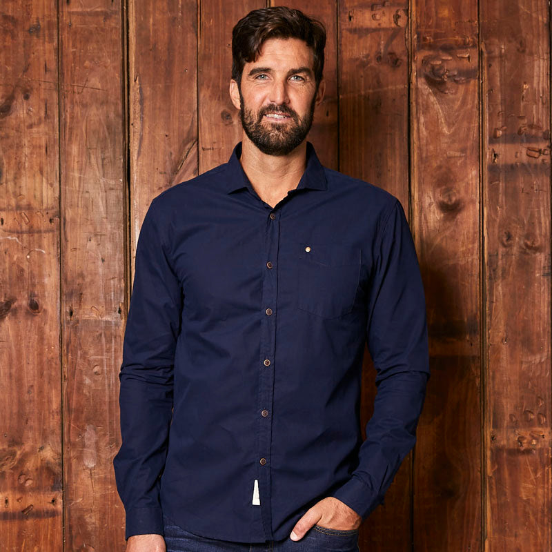 Classic Kingsley Slim Fit Midnight Shirt