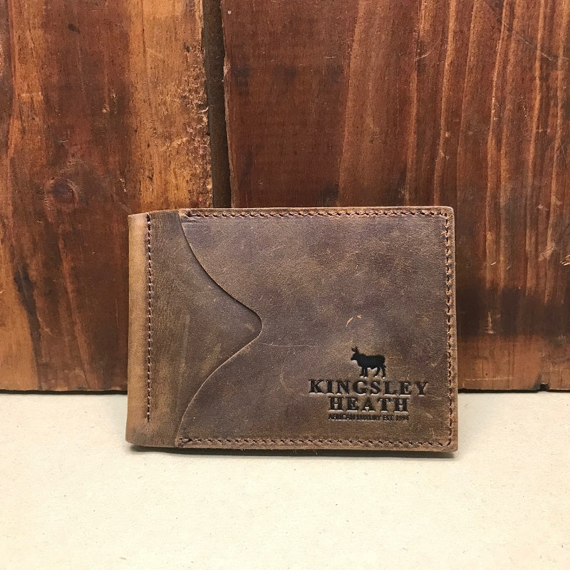Kingsley Heath Money Clip Buffalo Wallet