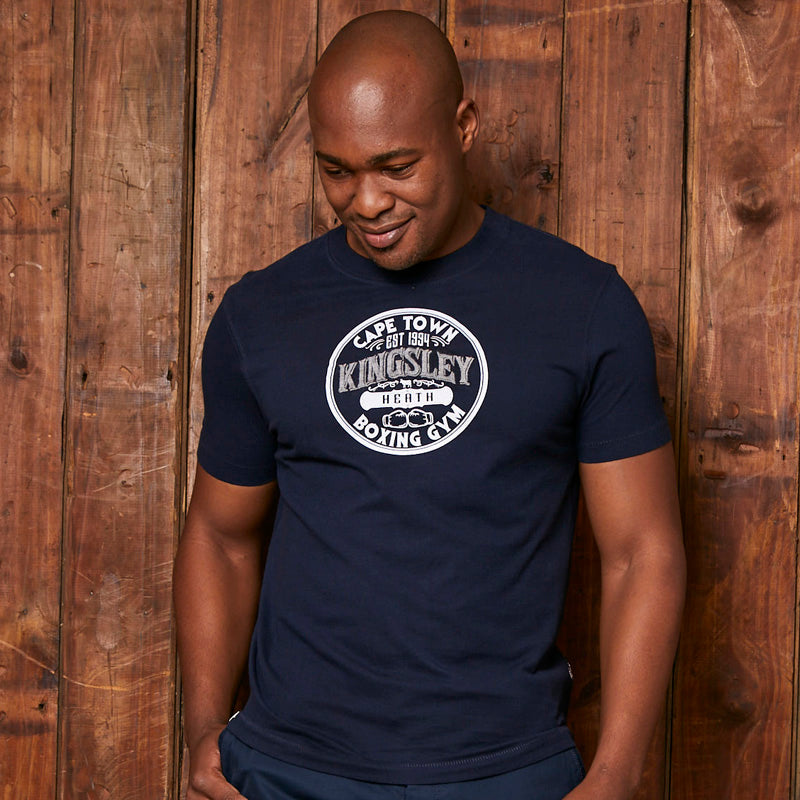 Kingsley Boxing Gym Crew Midnight Tee