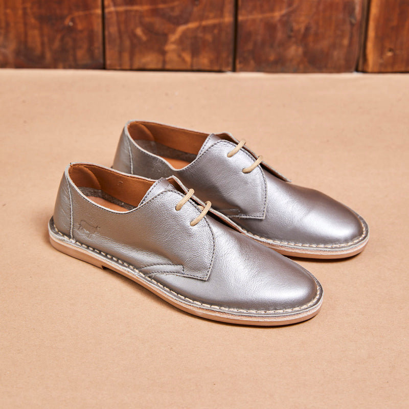 Kingsley Heath Wanderlust Luxe Pewter Shoe