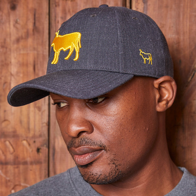 Heather Outline Nguni Mamba Cap