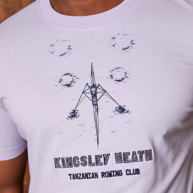 Kingsley Heath Scull Club Crew Iris Tee