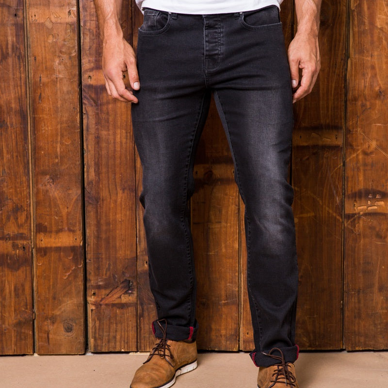 Ranger Slim Grey Wash Denim