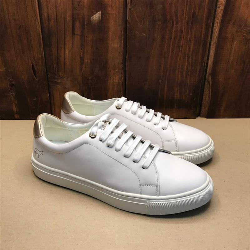 Kingsley Heath Ladies Luxe White/White Sneaker