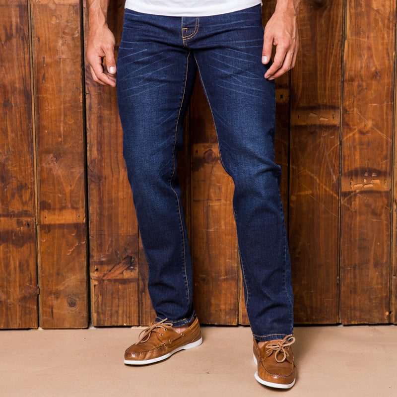 Madikwe Muscular Slim Indigo Dark Wash Denim