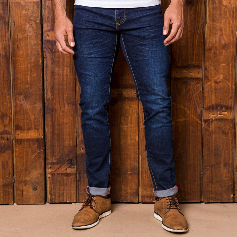 Ranger Slim Indigo Dark Wash Denim