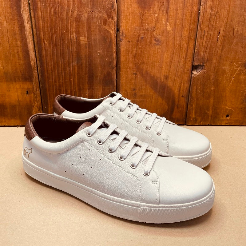 Kingsley Heath Waterfront Valc White/Tan/White Shoe