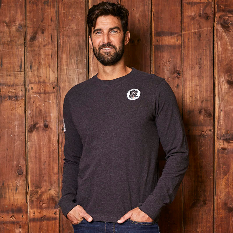 Kingsley Heath Rugby League Long Sleeve Gravel Tee