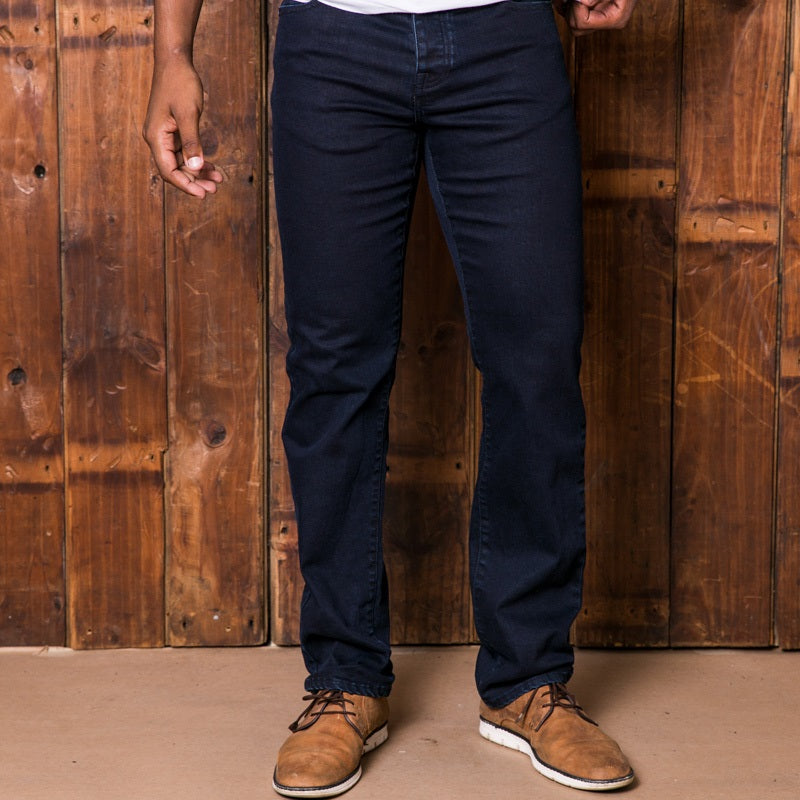 Expedition Regular Solid Ink Denim