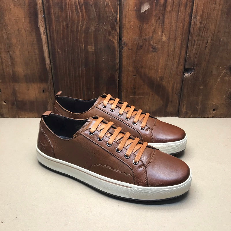 Kingsley Heath Old School Valc Choc/White Sneaker