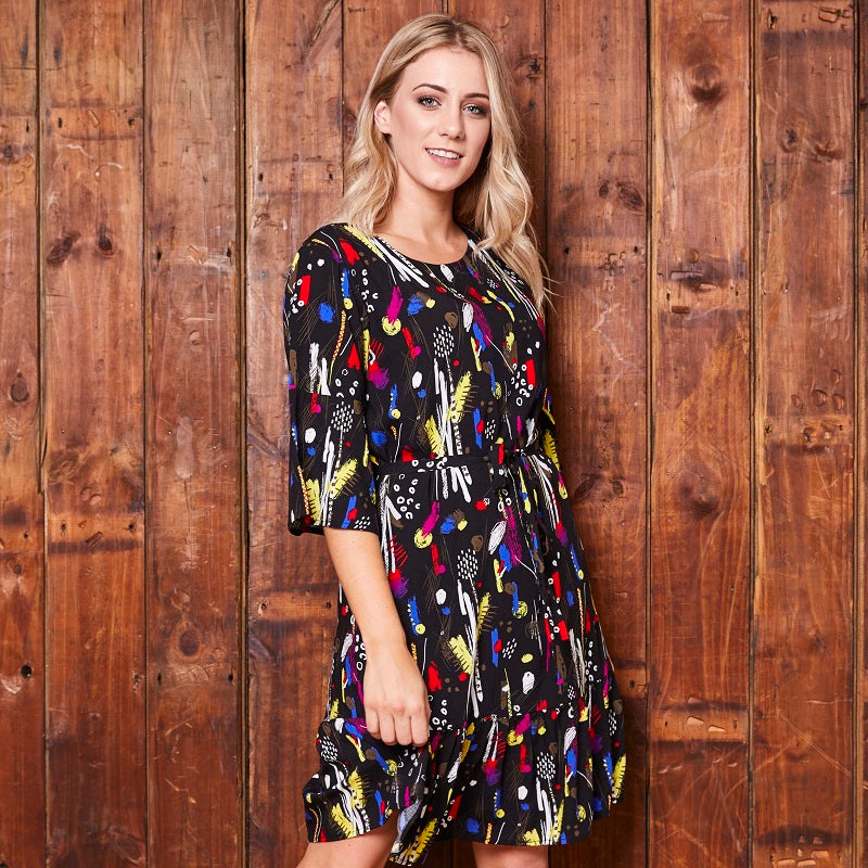 Boho Midsummer Dress Mamba Tunic