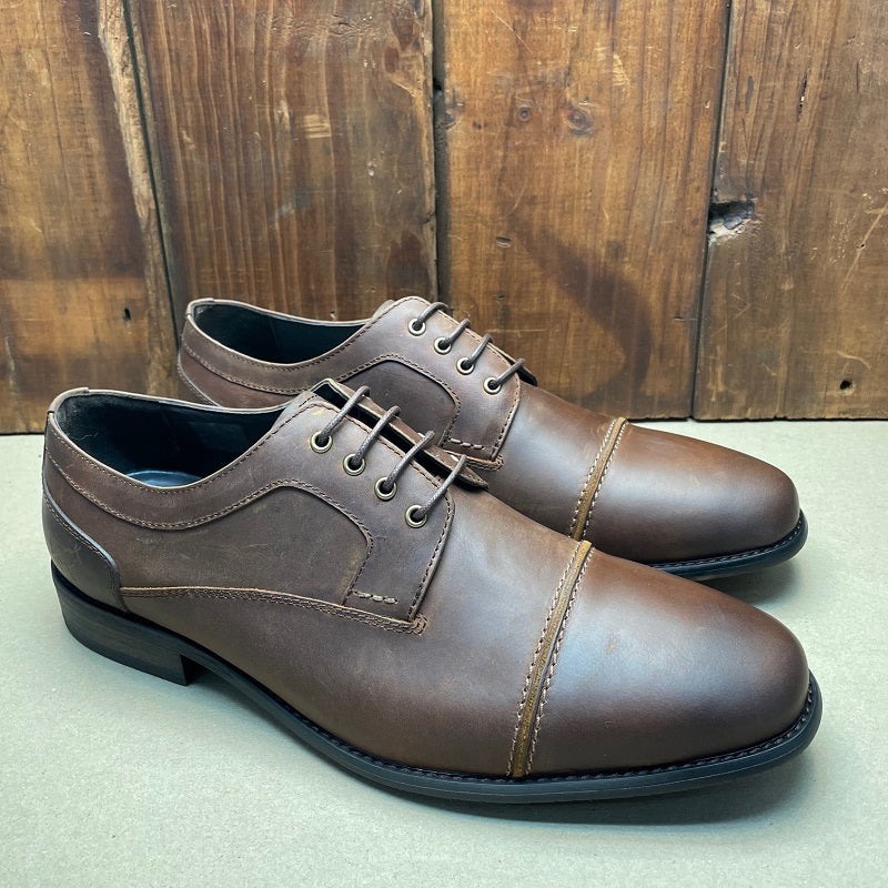 Kingsley Heath Cap Toe Cg Choc/Tan Shoe