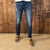 Okavango Super Slim Indigo Light Wash Denim